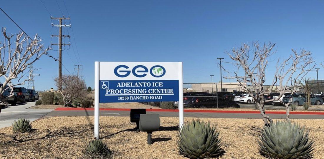 Centro de detención de Adelanto California